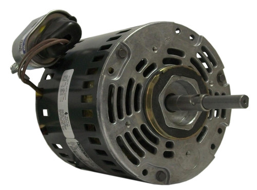 "Fasco D487 Motor | 1/10 hp 1550 RPM 5"" Diameter 115/208-230 Volts"