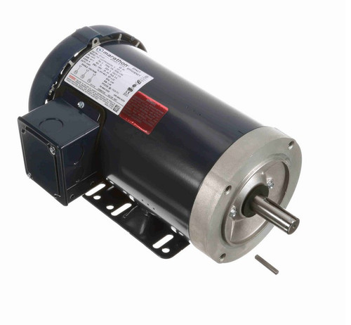GT1407 Marathon 2 hp 1800 RPM 3-Phase 145TC Frame TEFC (rigid base) 575V Marathon Motor