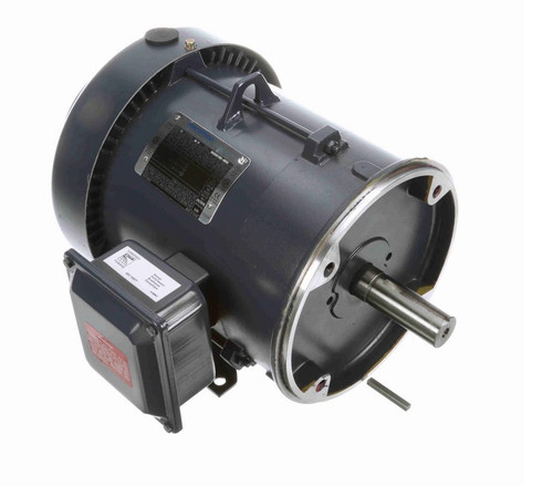 3 hp 3600 RPM 3-Phase 182TC Frame TEFC (rigid base) 575V Marathon Motor # GT1409A