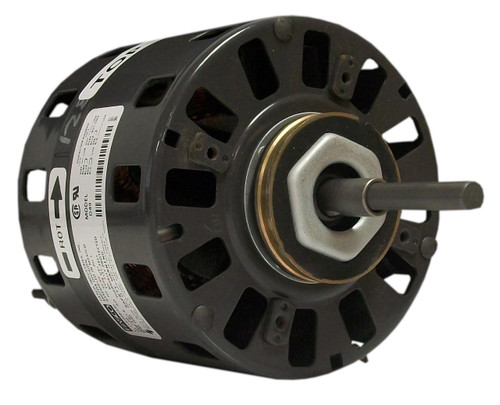"Fasco D490 Motor | 1/10 hp 1050 RPM CW 5"" Diameter 115/208-230 Volts"