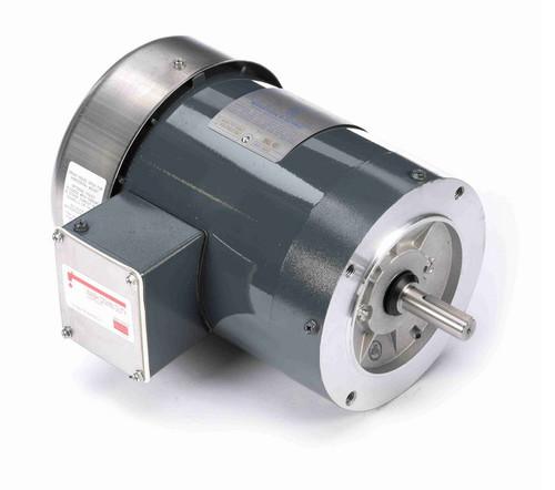 K607 Marathon 3/4 hp 1800 RPM 3-Phase  56C Frame TEFC (no base) 230/460V Marathon Motor