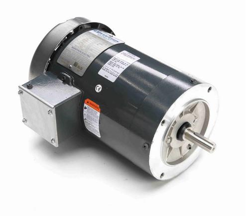 K610A Marathon 1 1/2 hp 1800 RPM 3-Phase  56C Frame TEFC (no base) 230/460V Marathon Motor