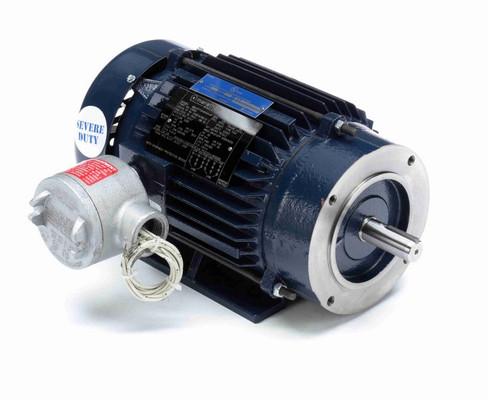 C361A Marathon 1 hp 1800 RPM 3-Phase  143C Frame TEFC (rigid base) 208-230/460V Marathon Motor