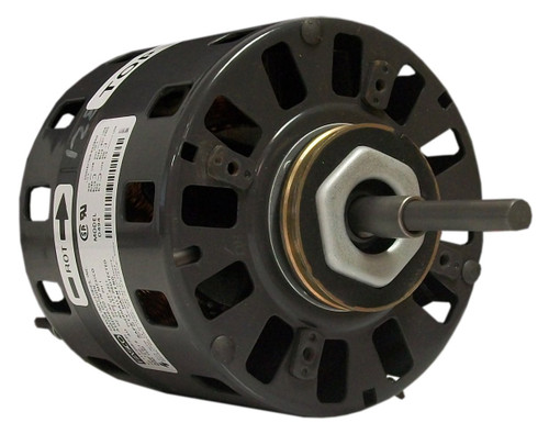 "Fasco D494 Motor | 1/20 hp 1050 RPM CW 5"" Diameter 115/208-230 Volts"