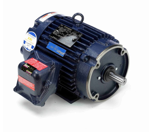 C368A Marathon 3 hp 1800 RPM 3-Phase 182TC Frame TEFC (rigid base) 575V Marathon Motor