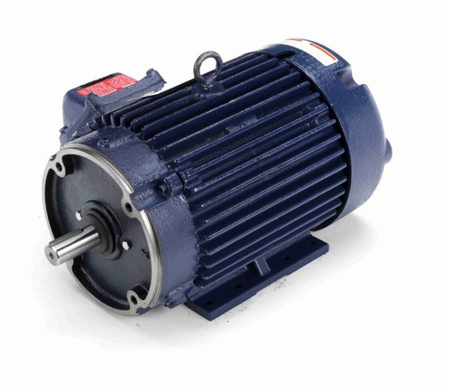 C369A Marathon 5 hp 1800 RPM 3-Phase 184TC Frame TEFC (rigid base) 575V Marathon Motor