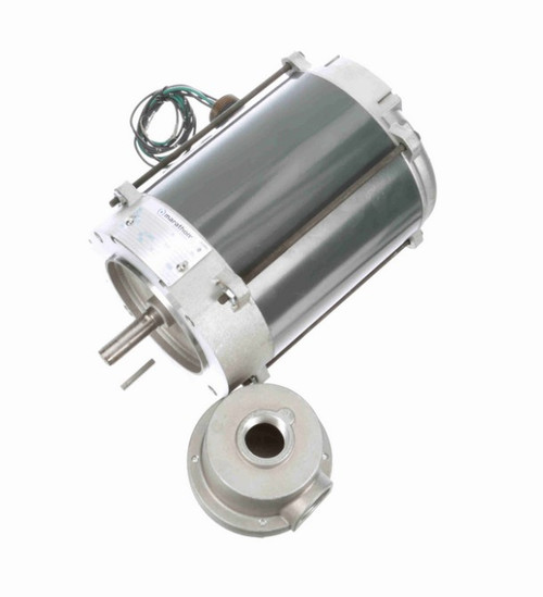 G842 Marathon 1/4 hp 1800 RPM 3-Phase  56C Frame TENV (no base) 575V Marathon Motor