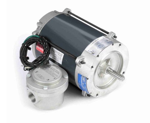 G828 Marathon 1/3 hp 1800 RPM 3-Phase  56C Frame TENV (no base) 208-230/460V Marathon Motor