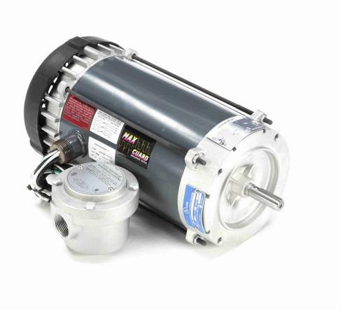 G841A Marathon 1 hp 1800 RPM 3-Phase 56C Frame TEFC (no base) 230/460V Marathon Motor