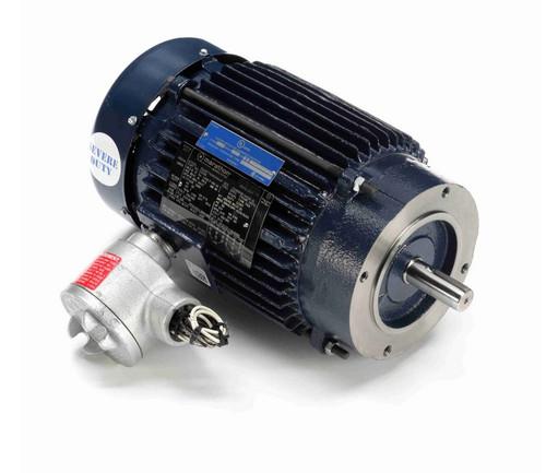 C320B Marathon 1 hp 1800 RPM 3-Phase 143TC Frame TEFC (no base) 230/460V Marathon Motor