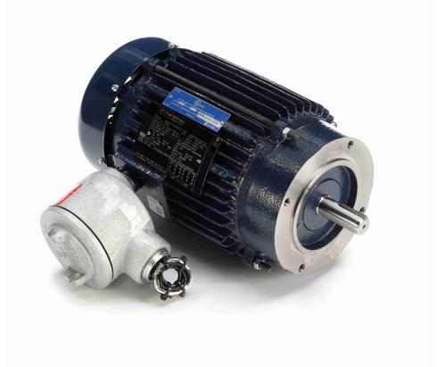 C321B Marathon 1 1/2 hp 1800 RPM 3-Phase 143TC Frame TEFC (no base) 230/460V Marathon Motor