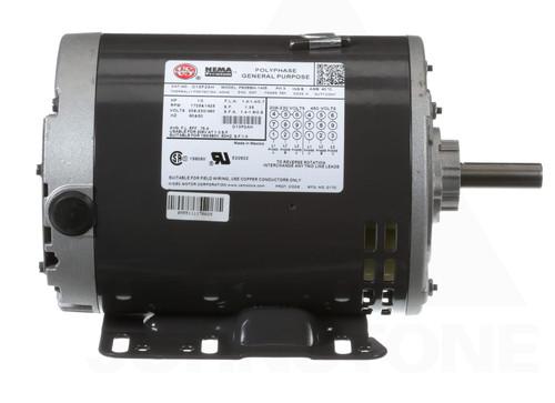 D13P2AH Nidec | 1/3 hp 1800 RPM 56H Frame 208-230/460V Open Drip Nidec Electric Motor