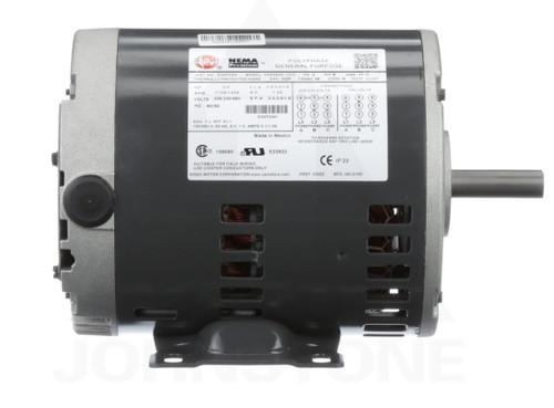 D34P2AH Nidec | 3/4 hp 1800 RPM 56 Frame 208-230/460V Open Drip Nidec Electric Motor