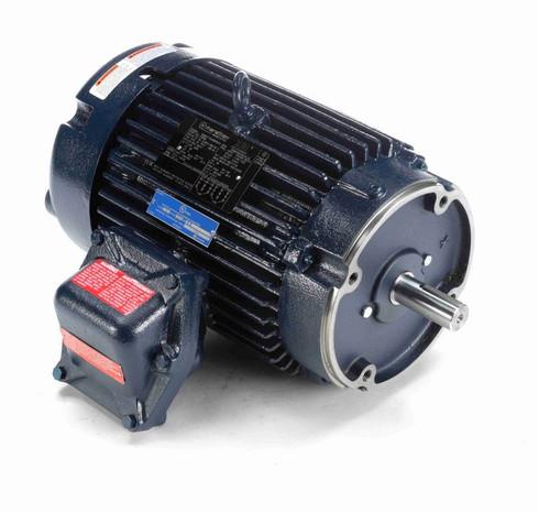 C303B Marathon 3 hp 3600 RPM 3-Phase 182TC Frame TEFC (no base) 230/460V Marathon Motor
