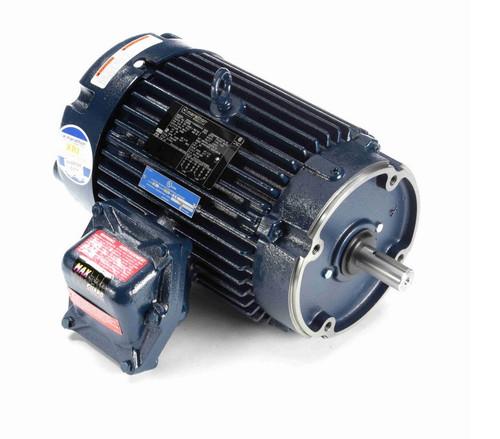 C304B Marathon 5 hp 3600 RPM 3-Phase 184TC Frame TEFC (no base) 230/460V Marathon Motor