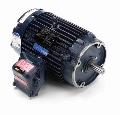 C324B Marathon 5 hp 1800 RPM 3-Phase 184TC Frame TEFC (no base) 230/460V Marathon Motor