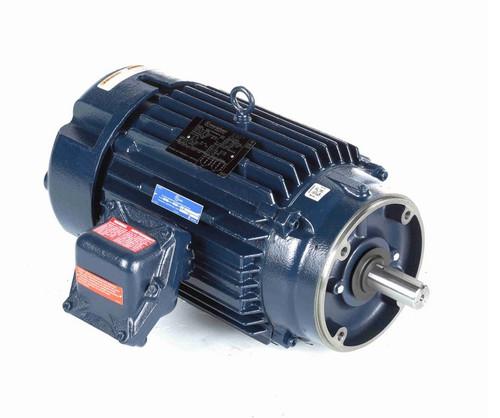 C306B Marathon 10 hp 3600 RPM 3-Phase 215TC Frame TEFC (no base) 230/460V Marathon Motor