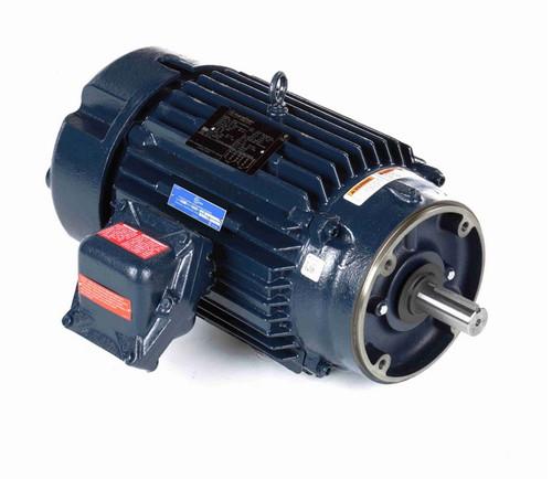 C326B Marathon 10 hp 1800 RPM 3-Phase 215TC Frame TEFC (no base) 230/460V Marathon Motor