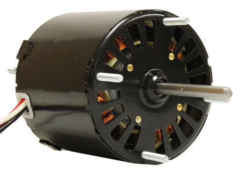 "Fasco D520 Motor | 1/20 hp 1500 RPM 3-Speed CW 3.3"" Diameter 115 Volts"