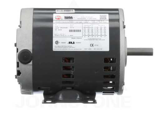 D2P2AH Nidec | 2 hp 1800 RPM 56H Frame 208-230/460V Open Drip Nidec Electric Motor