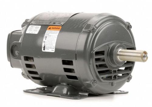 D2P2G Nidec   2 hp 1800 RPM 145T Frame 575V Open Drip Nidec Electric Motor