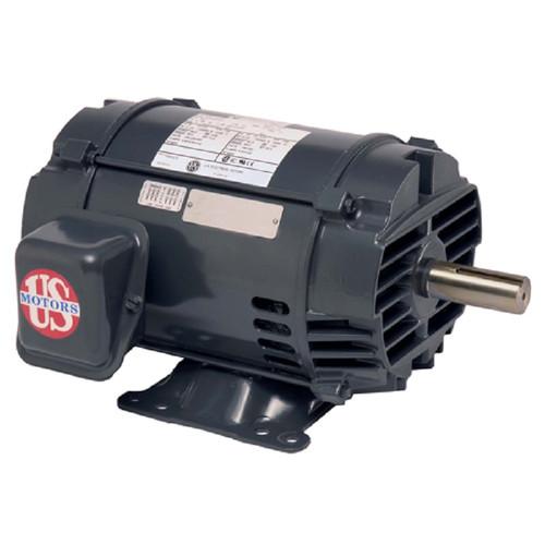 D2P3D Nidec | 2 hp 1200 RPM 184T Frame 208-230/460V ODP Motor Electric Motor Nidec