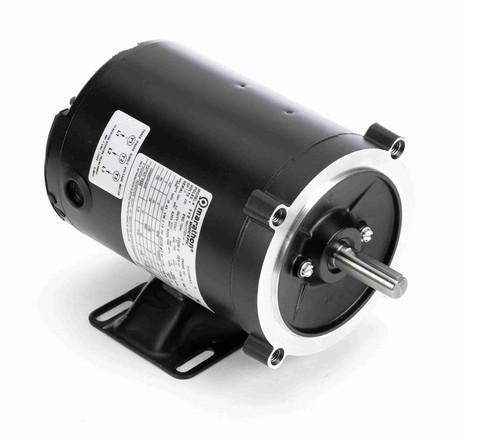 Y500 Marathon 1/4 hp 1800 RPM 3-Phase 56C Frame TENV (rigid base) 230V Marathon Motor