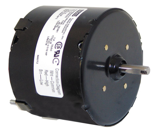 "Fasco D534 Motor | 1/35 hp 1550 RPM CW 3.3"" diameter 115 Volts (Miami Carey)"