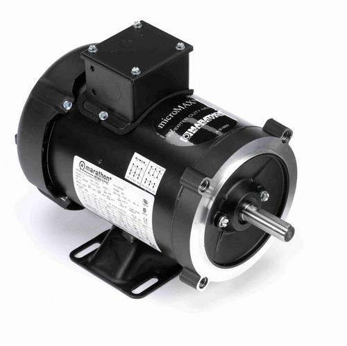 Y362 Marathon 3/4 hp 1800 RPM 3-Phase 56C Frame TEFC (rigid base) 230/460V Marathon Motor