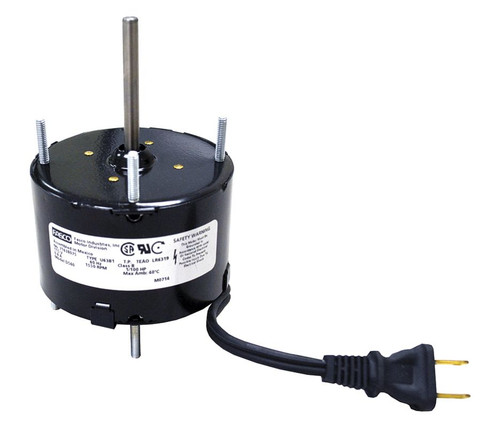 "Fasco D540 Motor | 1/100 hp 1500 RPM CW 3.3"" diameter 115 Volts (nutone)"