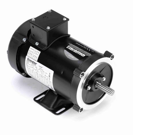 Y364 Marathon 1 hp 1800 RPM 3-Phase 56C Frame TEFC (rigid base) 230/460V Marathon Motor