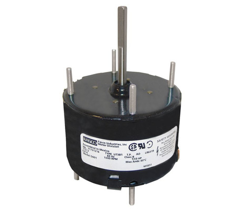 "Fasco D601 Motor | 1/50 hp 1500 RPM CCW 3.3"" Diameter 115 Volts"