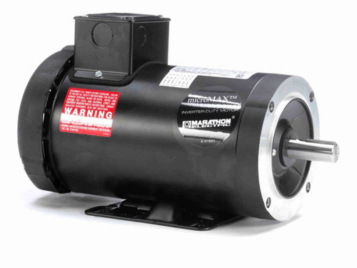 Y368 Marathon 2 hp 1800 RPM 3-Phase 145TC Frame TEFC (rigid base) 230/460V Marathon Motor