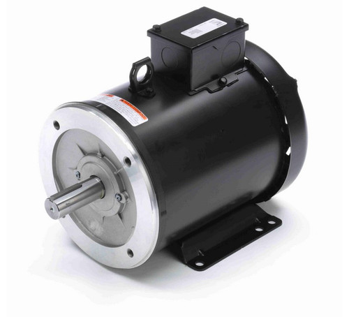 Y373A Marathon 5 hp 1800 RPM 3-Phase 184TC Frame TEFC (rigid base) 575V Marathon Motor