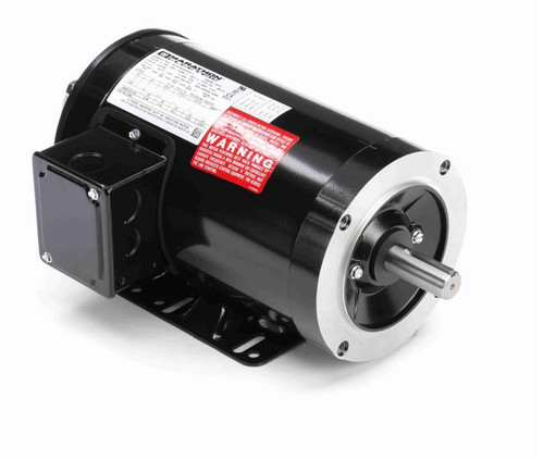 Y283 Marathon 1 hp 1800 RPM 3-Phase 143TC Frame TENV (rigid base) 230/460V Marathon Motor