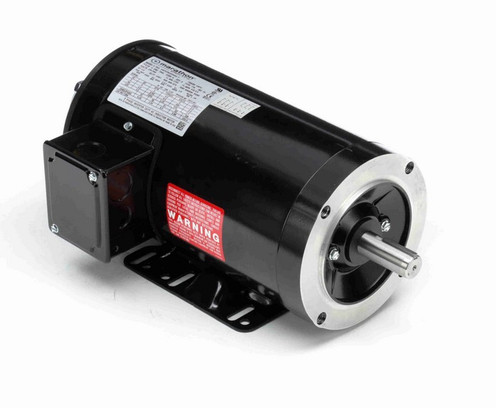 Y284 Marathon 1 1/2 hp 1800 RPM 3-Phase 145TC Frame TENV (rigid base) 230/460V Marathon Motor