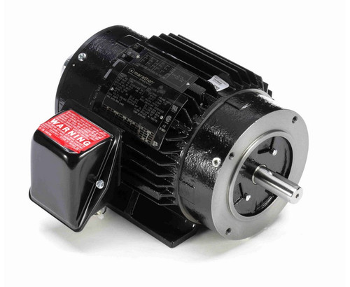 Y285 Marathon 2 hp 1800 RPM 3-Phase 145TC Frame TENV (rigid base) 230/460V Marathon Motor