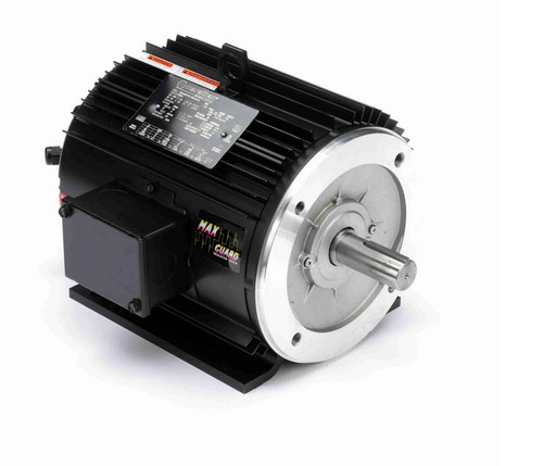 Y286A Marathon 2 hp 1800 RPM 3-Phase 145TC Frame TENV (rigid base) 230/460V Marathon Motor