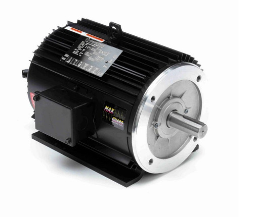 Y287A Marathon 5 hp 1800 RPM 3-Phase 182TC Frame TENV (rigid base) 230/460V Marathon Motor