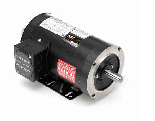 Y536 Marathon 1 hp 1800 RPM 3-Phase 143TC Frame TENV (rigid base) 230/460V Marathon Motor