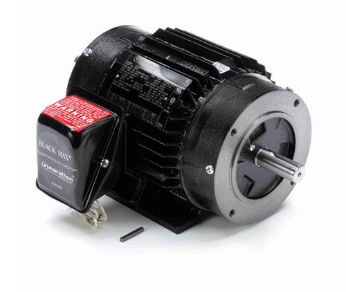 Y551 Marathon 2 hp 1800 RPM 3-Phase 145TC Frame TENV (rigid base) 230/460V Marathon Motor