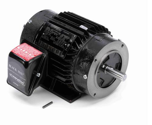 Y557 Marathon 2 hp 1800 RPM 3-Phase 145TC Frame TENV (rigid base) 575V Marathon Motor