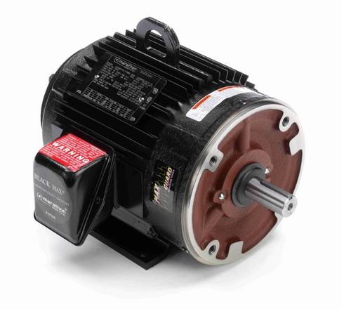 2 hp 1200 RPM 3-Phase 184TC Frame TENV (rigid base) 230/460V Marathon Motor # Y540