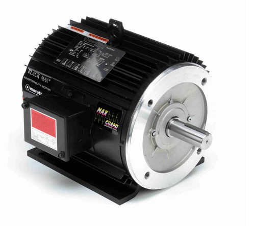 Y558A Marathon 3 hp 1800 RPM 3-Phase 182TC Frame TENV (rigid base) 575V Marathon Motor