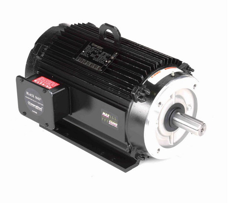 Y561 Marathon 10 hp 1800 RPM 3-Phase 215TC Frame TENV (rigid base) 575V Marathon Motor