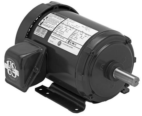 T12S3A Nidec | 1/2 hp 1200 RPM 56 Frame 208-230/460V TEFC Nidec Electric Motor