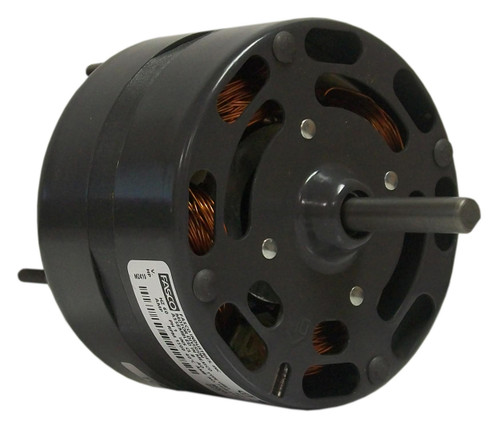 "Fasco D674 Motor | 1/10 hp 1500 RPM 2-Speed CW 4.4"" Diameter 230 Volts"