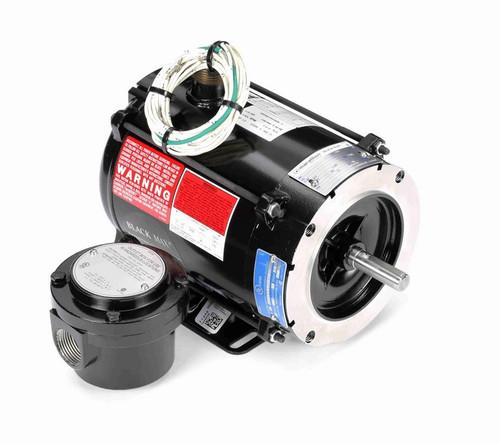 Y601 Marathon 1/3 hp 1800 RPM 3-Phase 56C Frame TENV (rigid base) 230/460V Marathon Motor