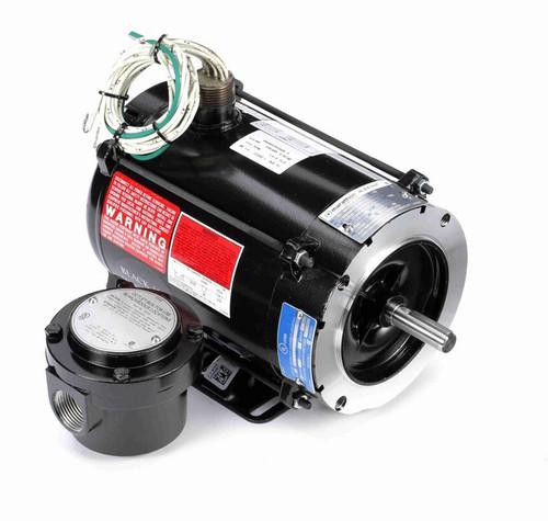 Y602 Marathon 1/2 hp 1800 RPM 3-Phase 56C Frame TENV (rigid base) 230/460V Marathon Motor