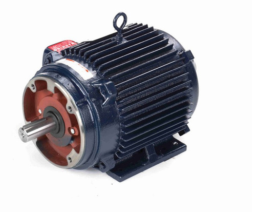 10 hp 1800 RPM 3-Phase 215TC Frame TENV (rigid base) 230/460V Marathon Motor # Y566